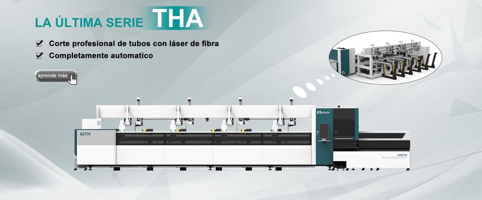 Máquina de corte por láser de tubos LX62THA