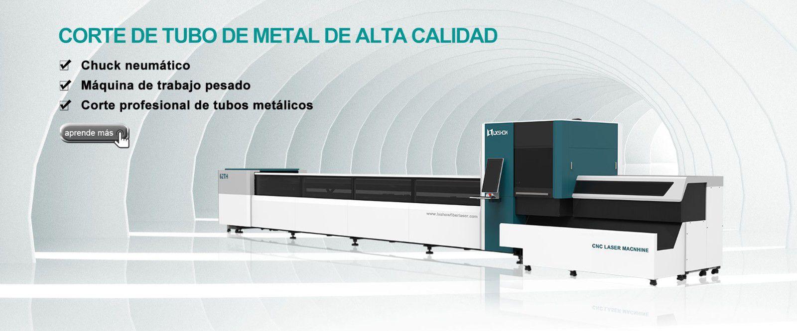 Máquina de corte por láser de tubos LX62TH